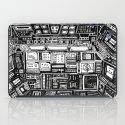 Lost cabin 666 iPad Case