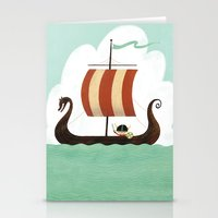 Viking Baby Stationery Cards