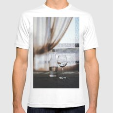 Water Mens Fitted Tee SMALL White