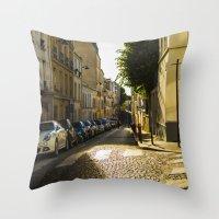 Montmartre Series 2 Throw Pillow