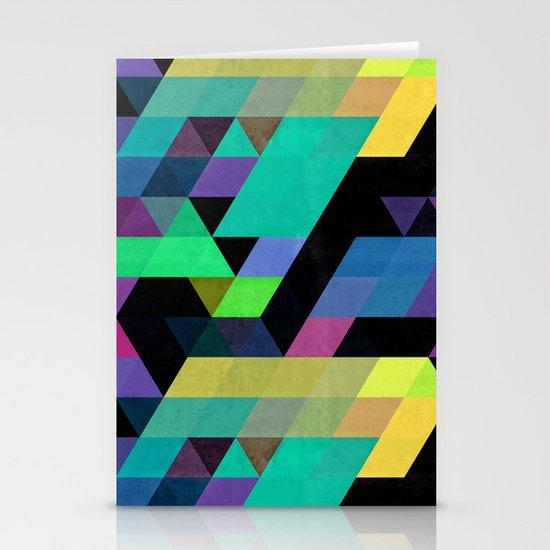 Qy^dyne Stationery Card