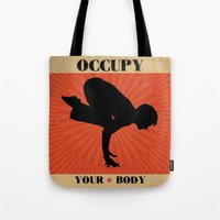 Occupy Your Body Tote Bag