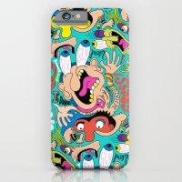 iPhone & iPod Case featuring Weird Pattern by Chris Piascik