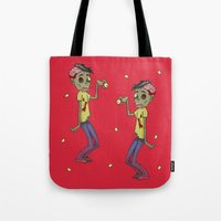 Zombie Watch Tote Bag