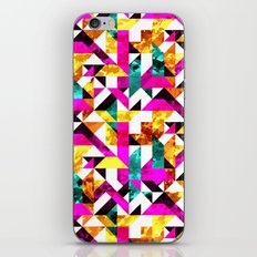 Textural Aztec Geometric  iPhone & iPod Skin