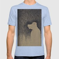 Fading Slowly Mens Fitted Tee Athletic Blue SMALL
