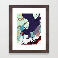 This is Berk Framed Art Print