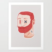 Hipsters to the max Art Print