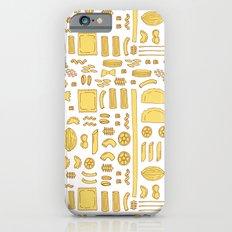 Pasta, a pattern. Slim Case iPhone 6s