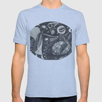Night Secrets Mens Fitted Tee Athletic Blue SMALL