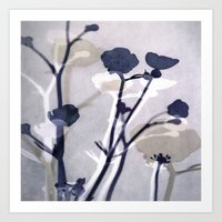Abstract Florals  ~ Colo… Art Print