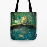 Crown Prince Tote Bag