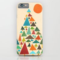 iPhone & iPod Case featuring The house at the pine forest by Budi Kwan
