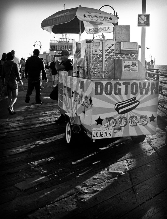 Dogtown Dogs Art Print