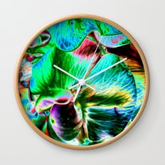 Sweet Pea Wall Clock