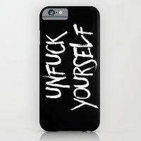 Unfuck Yourself - Invers… iPhone 6 Slim Case
