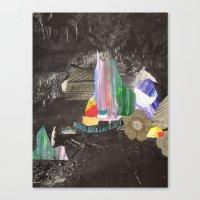Cave Garden I Canvas Print