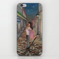 A Kiss In Paris iPhone & iPod Skin