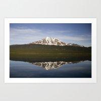 Reflections: Floating Ar… Art Print