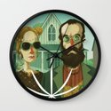 American Gothic High Wall Clock