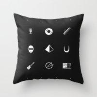Tribute To Daft Punk, B&… Throw Pillow
