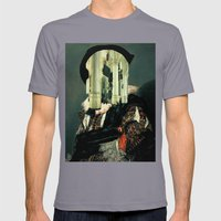 Elephant Man Mens Fitted Tee Slate SMALL