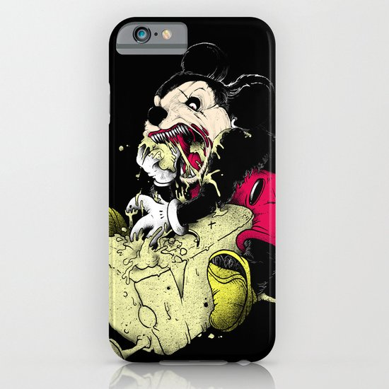 Mickey Gone Wild iPhone & iPod Case