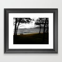 Bench... Framed Art Print