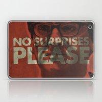 No surprises please Laptop & iPad Skin