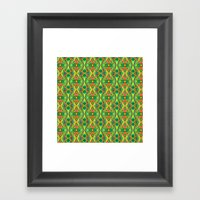 Geometria Framed Art Print