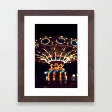 The Rides, The Swings Framed Art Print