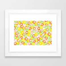 Morning Glory  - Sun Multi Framed Art Print