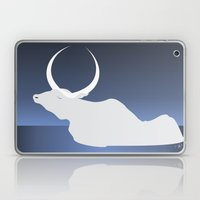 The Moon Landed Softly O… Laptop & iPad Skin