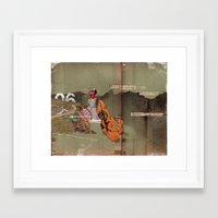 Read the Directions Framed Art Print