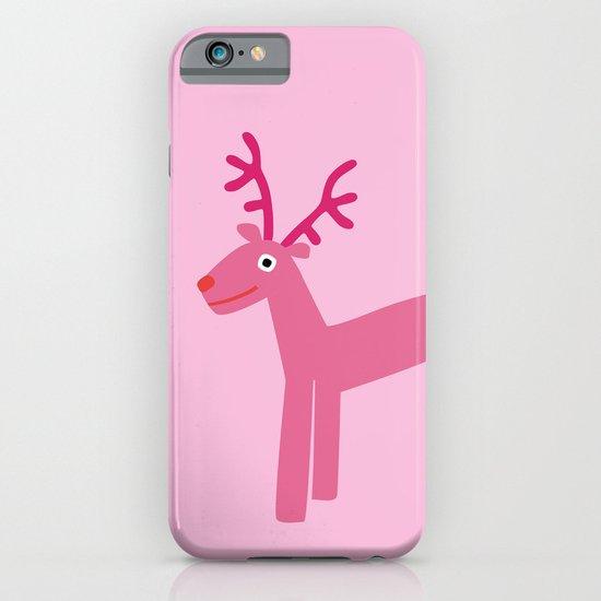Reindeer-Pink iPhone & iPod Case