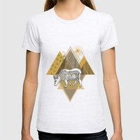 Mountain Goat Womens Fitted Tee Ash Grey SMALL