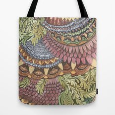 Quilted Forest: The Owl Tote Bag