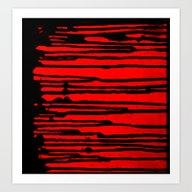 Partial Abstract V3 Art Print