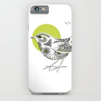 iPhone & iPod Case featuring Bush Wren Xenicus Longipes by Rachel Russell