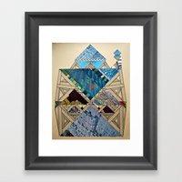 Paper House 1 Framed Art Print