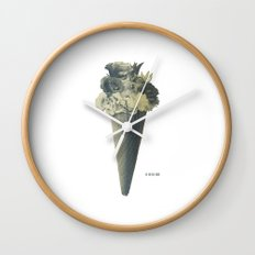 Flowers Flavor III Wall Clock