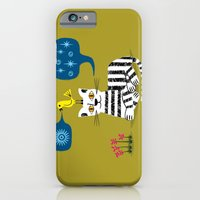 iPhone & iPod Case featuring The Conversation by Oliver Lake