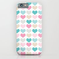 iPhone & iPod Case featuring sweet hearts by Berreca
