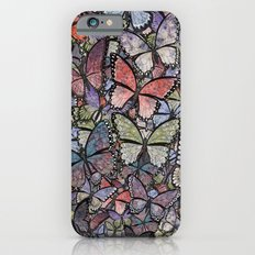 butterflies galore grunge version Slim Case iPhone 6s