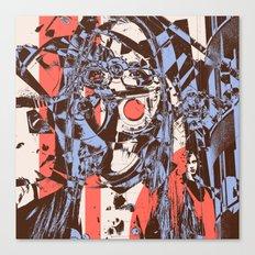 Modern Macabre Canvas Print