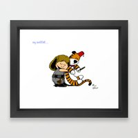 My Sweetie... Framed Art Print