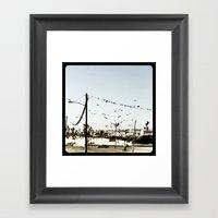 The Birds. Framed Art Print