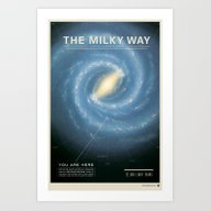 The Galaxy Art Print