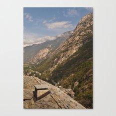Aosta valley Canvas Print