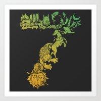 The 7 Kingdoms Art Print